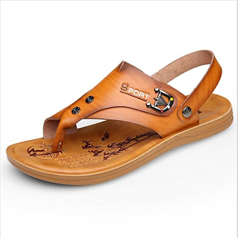 Wagsiyi Hausschuhe Sandalen Herren Outdoor Sports Sandalen Anti Slip Dual Beach Sandalen (24 0 27 0) cm Strandschuhe