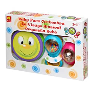 Halilit Baby Face Orchestra Musical Instrument Gift Set