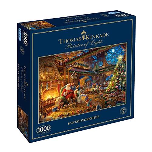 Gibsons - Puzzle (1000 Piezas), diseño de Santa Claus
