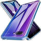 LK Coque pour Huawei Honor 10, Ultra [Svelte Mince] Housse Coque Protecteur Silicone Peau Douce Caoutchouc Gel TPU Résistant à la Rayure - Clair