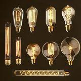 Edison-Birne lampada Retro Lampe glühlampen ampulle Vintage E27 40 watt 220 V Für Decor Glühlampe E27 Pendelleuchten antike Lampe