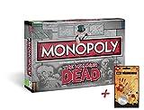Unbekannt Monopoly The Walking Dead Survival Edition Brettspiel Gesellschaftsspiel Spiel + Zusatzartikel (+Walker Hunter Pendant Dog Tags)