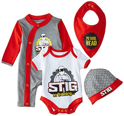 Top Gear Unisex Baby 4 Piece Sta...