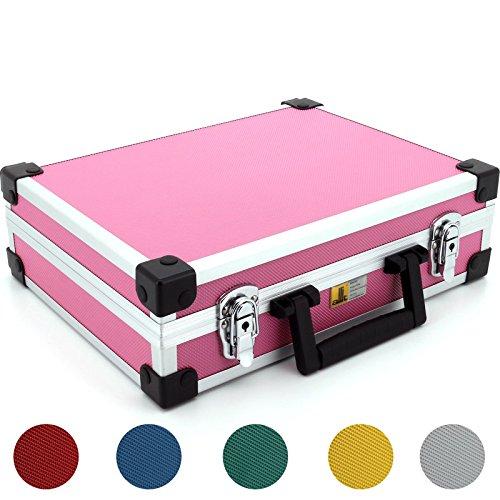 Aluminium Koffer Basic L35 Pink Typ 4241150, Pink