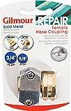 Gilmour Heavy Duty Zinc & Brass Female Clamp Coupling 01FZ