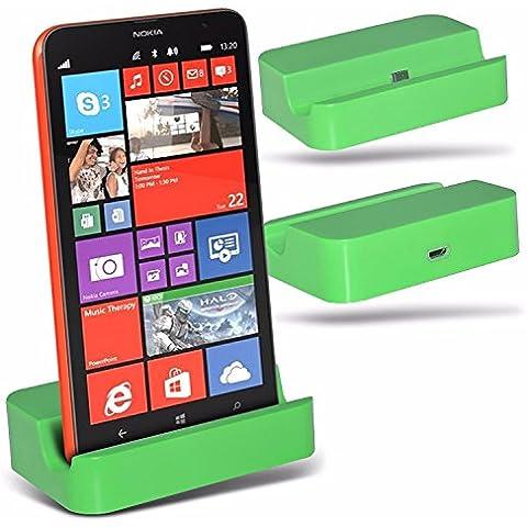 Blackview 5000 - Micro USB Desktop Dock di ricarica Monte stand - Green