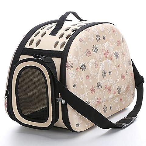 Samtlan–Boîte de transport pour chiens/chats/petits animaux, respirant et étui pliable