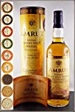 Amrut indischer Single Malt Whisky (46 %VOL.-0,7 Liter) in der Original Umverpackung mit 9 DreiMeister Edel Schokoladen