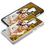 Handyhülle für Samsung Galaxy-Serie selbst gestalten * eigenes Foto * Schutz mit eigenem Bild, Farbe:Schwarz, Handymodell:Samsung Galaxy S9