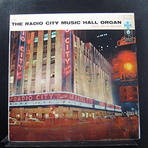 Ashley Miller - The Radio City Music Hall Organ - Lp Vinyl Record