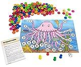 Betzold 754833 - Rechenspiel Rechenqualle, Rechnen Lernen Mathematik Grundschule Kinder