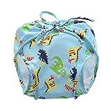 IPOTCH Baby Kinder Windelhose Unterwäsche Wasserdicht Trainerhosen Töpfchentraining - Hellblau (5-8,5 kg)
