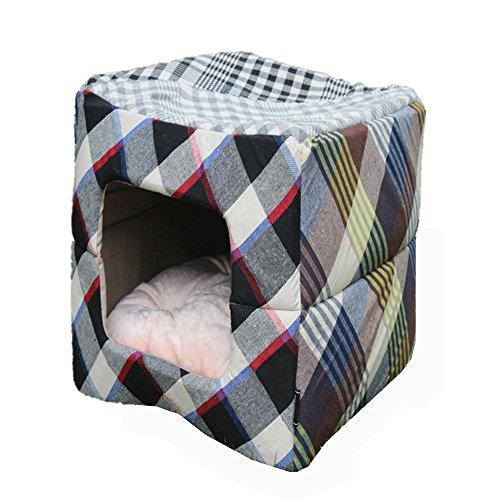 OOFWY Pet Products - Caseta cuadrada para mascotas