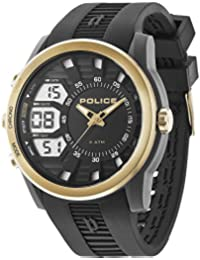 Police 14249JPBG/02 - Reloj , correa de silicona color negro