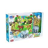 Mzl Kinder große Granulat Zoo Bausteine Puzzle Collage klingen Montage Rollenspiele Früherziehung Spielzeug