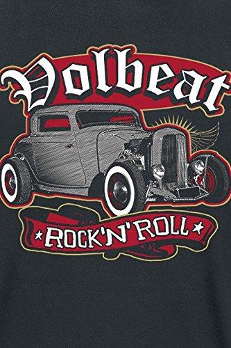 Volbeat Rock'N'Roll T-Shirt schwarz Schwarz