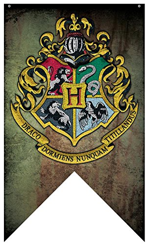 Harry Potter Howwarts Crest 30 x 50 Indoor Bandera