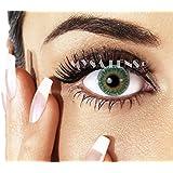 Lentilles De Contact De Couleur Fantaisie Crazy Lens Cosplay Yeux Green / Vert 3 Tons 12 Mois sans correction