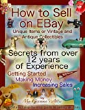 How to Sell on EBay: Unique Items or Vintage and Antique Collectibles (English Edition)