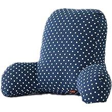 colorfulworld® Super Cómodo–Cojín de silla cama Lectura Cojín Respaldo Cojín Lumbar T Forma de algodón Insert A-02