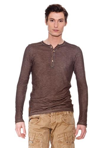 "Cipo & Baxx Herren Sweatshirt ""C-5290"" brown Braun"