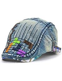 Impression 1 PCS Boinas Boina de niño Ocio Retro Hat Gorra de golf Sombrero  de Sol 0a4a7f91e0d