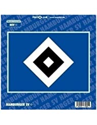 Brauns Hamburger SV Autoaufkleber Logo,  blau, 29212