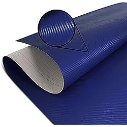 Adhesif Thermoformable Carbone bleu foncé 75x100cm Yamaha XJR 1300/ Racer, XSR 700/ 900, XT 1200 Z Super Tenere, XT 660 R/ X/ Z Tenere, YZF 600/ 1000 R Thunderace, YZF-R1/ R3/ R6, XV 950/ R