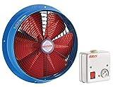 Gebläse Axialventilator Ventilator Lüfter Industrie Abluft Leise ø300 2000m³/h inklusive Drehzahlregler