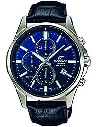 Casio Edifice – Herren-Armbanduhr mit Analog-Display und Echtlederarmband – EFB-530L-2AVUER