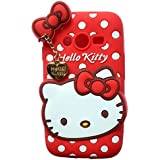 Dream2Cool Hello Kitty Back Cover For Samsung Galaxy Grand Duos 9082 - Red