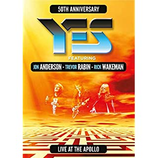 YES (ATW) Live at the Apollo [DVD] [2018]