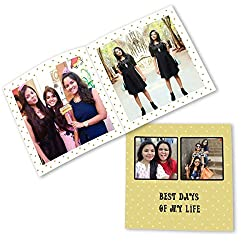 Clixicle Customized Flip Photo Book - Best Days of my life, 32 pages, 6in x 6in