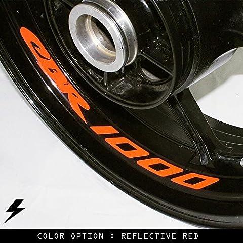 Honda CBR 1000 moto cerchio interno adesivo in vinile GB