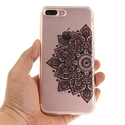 """Coque Case pour Apple iPhone 7 Plus 5.5"""" Délicat Dessin Coeurs colorés Ultra Fine Transparente Souple TPU Gel Couleur3"""