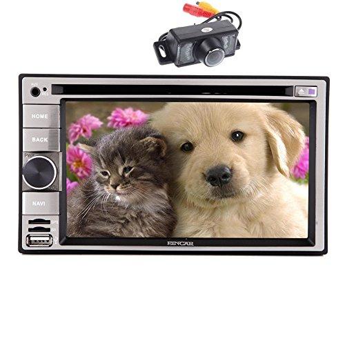 Eincar 6.2inch GPS Radio autoradio Dash HD 2din Multi-Touch capo unità DVD includono tocco della penna Telecomando Autoradio Bluetooth Supporto DVD / CD / MP3 / USB / SD / AM / FM / RDS Radio / vivavoce Bluetooth / Audio Win 8 Camera Operation System + Backup