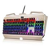 [LAYOUT ITALIANO]Tastiera Meccanica Gaming KingTop 104 Tasti Meccanici Blu 100%...