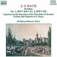 Bach, J.S.: Partitas Nos. 1-2, Bwv 825-826