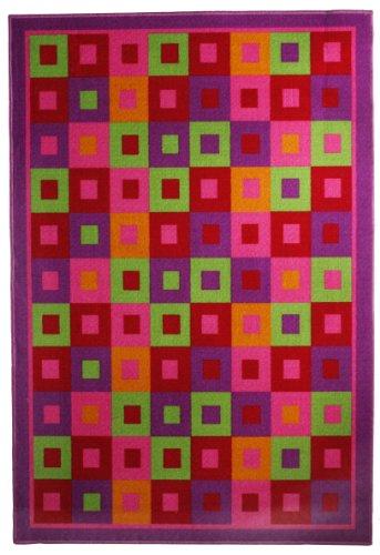 andiamo-1100263-area-rug-jolly-kids-area-rug-80-x-150-cm-check-green-rose
