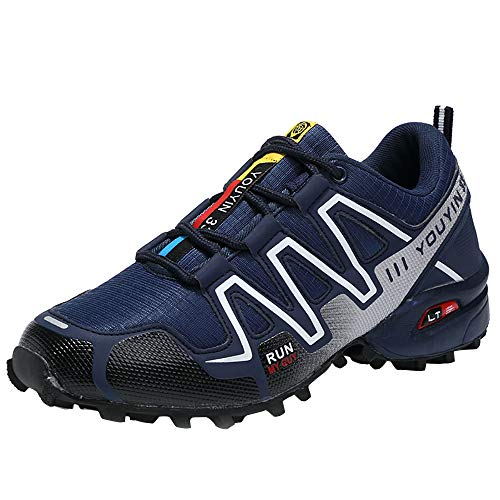 Scarpe da Trail Running Uomo,Speedcross, Outdoor off-Road da Escursionismo Scarpe da Ginnastica Traspiranti Antiscivolo Scarpe Resistenti,Ginnastica Sneakers Scarpe da Casual Basse FitnessTrekking