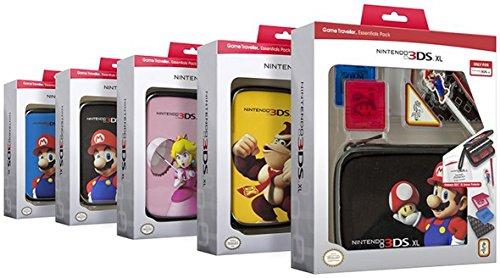 """Nintendo new 3DS XL / 3DS XL - Zubehör-Set """"Official Essential Mario Pack"""" (farblich sortiert, Farbe nicht wählbar)"""
