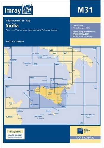 Imray Chart M31: Sicily por Imray