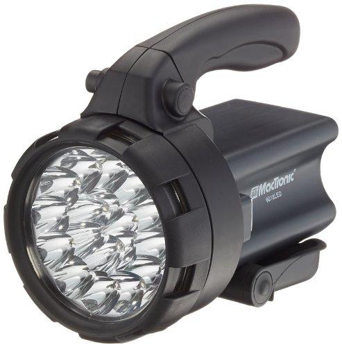 MacTronic - Aufladbarer Suchscheinwerfermit 18 LEDs 9018 LED
