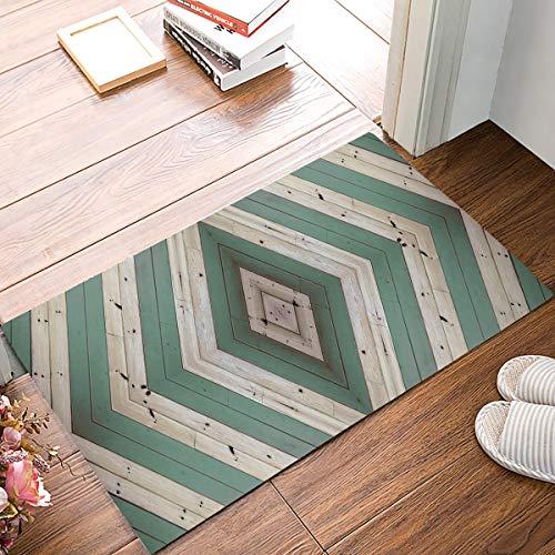 Kinhevao Fußmatten Eingangsmatte Boden Teppich Innen/Außen/Haustür/Badezimmer Dünne Matten Gummi rutschfeste Begrüßungsmatte Blutspritzer Badematte Badematte