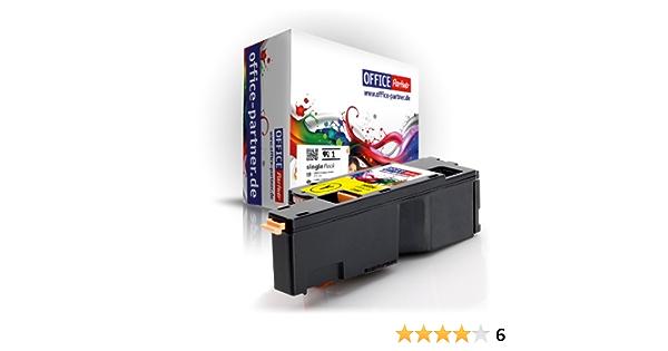 Office Partner Premium Toner Cartridge Compatible Dell C1660y Yellow For Dell C1660 C1660w Bürobedarf Schreibwaren