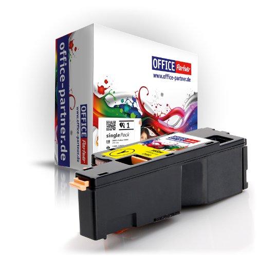 OFFICE-Partner Premium Toner kompatibel zu DELL C1660 YE gelb geeignet für DELL C1660 / DELL C1660W