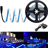 Citra Blue LED Strip Light Kit Direct Plug in, 5M - Includes Power