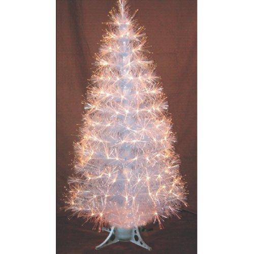 Decoración de Navidad: Arbol de Navidad 120cms de fibra óptica transparente Ref. 200-445