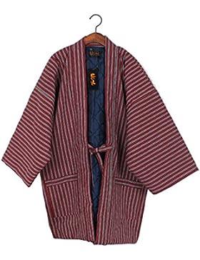 Chaleco de Kimono japonés unisex Chaleco de invierno espesar ropa de casa # 07