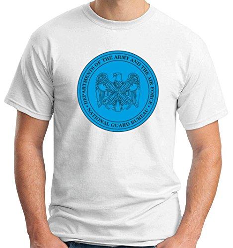 T-Shirtshock - T-shirt TM0381 National Guard Bureau usa, Größe XXL (T-shirt Guard National)